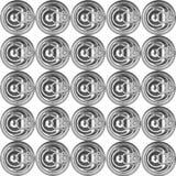 Le métal peut couvercle Photographie stock libre de droits