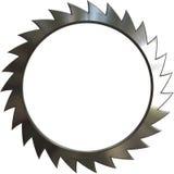 Le métal a vu Photographie stock libre de droits