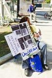 Le maître d'école à occupent la démonstration de LA Images libres de droits