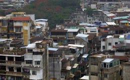 Le Macao, vieille ville Image libre de droits