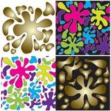 Le macchie colorano e gradiente Immagine Stock