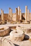 Le macellum (le marché), Jerash (Jordanie) Photo stock