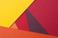 Le macro fond de conception matérielle, se ferment du papier texturisé, carton lourd, carton coloré Images libres de droits