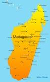 Le Madagascar Images libres de droits
