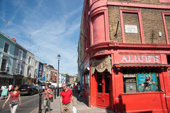 Le magasin antique d'Alice sur la route de Portobello, Londres. Photo stock