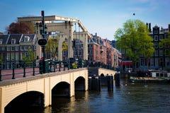 Le Magere Brug, Amsterdam Photographie stock libre de droits