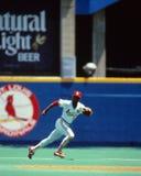 Le magicien -- Ozzie Smith, St Louis Cardinals Photos libres de droits