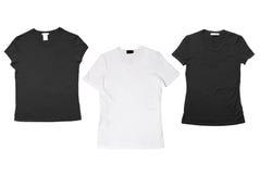 Le magliette hanno isolato Immagine Stock Libera da Diritti