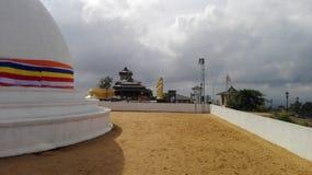 Le mahameuna de nom de temple dans Sri Lanka Images libres de droits