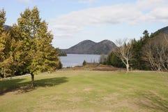 Le Maine pendant la saison d'automne Photo libre de droits