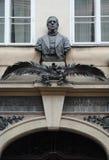 Le maison-musée du ½ tchèque de palackà d'ek de ¡ de frantiÅ d'historien à Prague image libre de droits