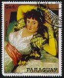 Le Maja vêtu par Francisco de Goya photographie stock libre de droits