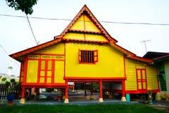 Le MALACCA, MALAISIE - 4 août : Chambre malaise traditionnelle chez Kampung M image libre de droits