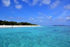 Le Maldive Fotografia Stock Libera da Diritti