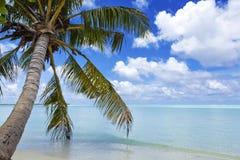 Le Maldive - un viaggio al paradiso su terra Fotografia Stock