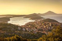 Le Mali Losinj, Croatie image stock