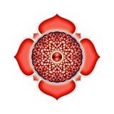 Le mandala de Muladhara Chakra illustration de vecteur
