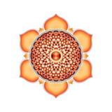 Le mandala sacré de Chakra illustration stock