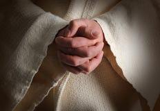 Le mani di Jesus Fotografia Stock Libera da Diritti