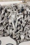 Le mani scolpiscono da inferno Fotografia Stock Libera da Diritti