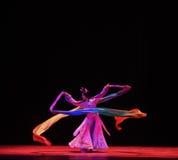 """Le maniche lunghe sono un vantaggio in un ballo - balli il  di Lanfang†di drama""""Mei Immagine Stock"""