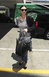 Le mannequin vedette Miranda Kerr est vu chez LAX Photos libres de droits