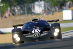 Le Mans 24h race(Bentley) Royalty Free Stock Photography