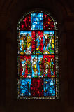 Le Mans cathedral Stock Photography