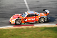 Le Mans Eneos 6, SuperGT 2010 Photo libre de droits