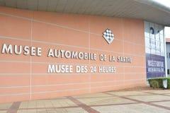 LE MANS, FRANCE - APRIL 30, 2017: Museum of cars 24 hours Le mans Circuit Sarthe, Pays de la Loire, France -Le Mans Stock Image