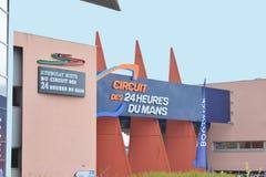 LE MANS, FRANCE - APRIL 30, 2017: Museum of cars 24 hours Le mans Circuit Sarthe, Pays de la Loire, France -Le Mans Stock Photo