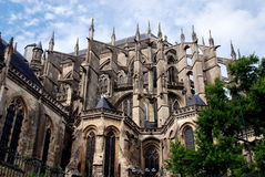Le Mans, France: Cathédrale St. Julien Stock Photography