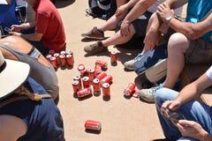 LE MANS FRANCJA, CZERWIEC, - 18, 2017: Cuns piwo podczas rasy 24 godziny Le obsługuje Fotografia Stock