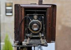 LE MANS FRANCJA, PAŹDZIERNIK, - 02, 2016: Stara duża rocznik kamera Obraz Royalty Free