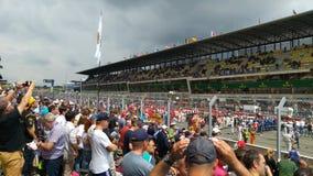 Le Mans gropgränd Arkivbilder