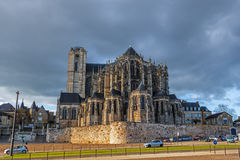 Le Mans katedra Obrazy Royalty Free