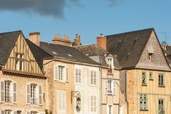 Le Mans Plantagenet stad Arkivfoto