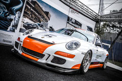 Le Mans porsche Royalty Free Stock Photo