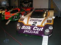 Le Mans que ganha o suporte dos carros Foto de Stock