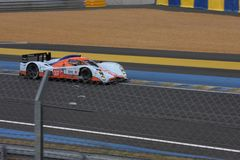 Le Mans racing track racing cars circuit, high speed fast sports car race held in France Europe  Royalty Free Stock Photography