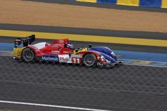 Le Mans racing track racing cars circuit, high speed fast sports car race held in France Europe Stock Photo