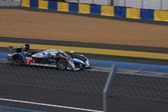 Le Mans racing track racing cars circuit, high speed fast sports car race held in France Europe Stock Image