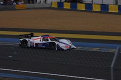 Le Mans racing track racing cars circuit, high speed fast sports car race held in France Europe Stock Photography