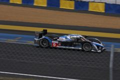Le Mans racing track racing cars circuit, high speed fast sports car race held in France Europe Royalty Free Stock Photo