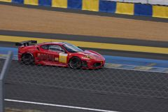 Le Mans racing track racing cars circuit, high speed fast sports car race held in France Europe Royalty Free Stock Images