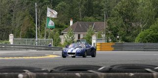 Le Mans Racing Car Circuit Track Royalty Free Stock Image