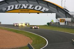 Le Mans Racing Cars royalty free stock image