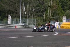 Le Mans-Rennwagen Stockfoto