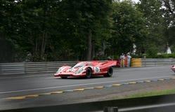 Le Mans-Rennwagen-Stromkreis Lizenzfreie Stockfotos