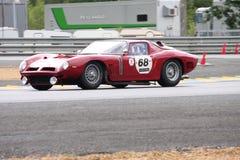 Le Mans-Rennwagen-Stromkreis Stockfoto